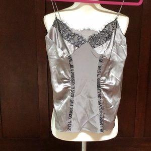 Diane Von Furstenberg silk Kenmare camisole top